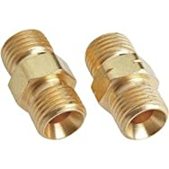 Forney Industries 60332 Oxy-Acetylene Hose Coupler Set-OXY-ACET HOSE CPLR SET