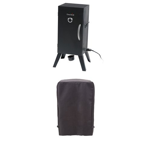 Char-Broil Vertical Electric Smoker + Cover (Insulated Cover For Smoker compare prices)