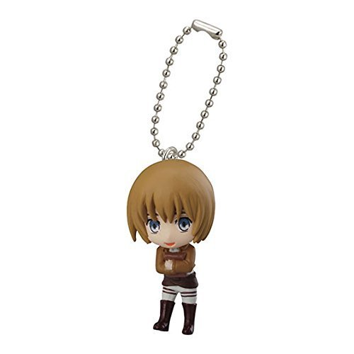 Bandai Attack On Titan Figure Swing Keychain Part 2~Armin Armout