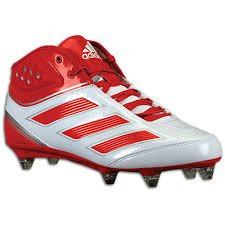 Adidas Malice 2 Fly Football Cleats Mens 13.5 Red White G48178 by adidas