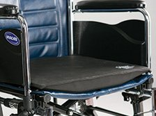 Secure SCSS-1 Convex Seat Support With Safety Straps