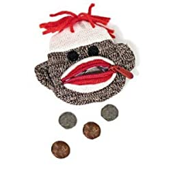 SCHYLLING SOCK MONKEY COIN PURSE