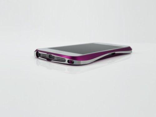 【iPhone5用アルミバンパーの最高峰】Deff CLEAVE ALUMINIUM BUMPER for iPhone5 DCB-IP50A6PUL ギャラクティックパープル