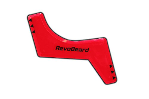 RevoBeard-Beard-Styling-TemplateStencil-for-Men-Lightweight-and-Flexible-One-Size-Fits-All-Curve-Cut-Step-Cut-Neckline-Goatee-Beard-Shaping-Tool
