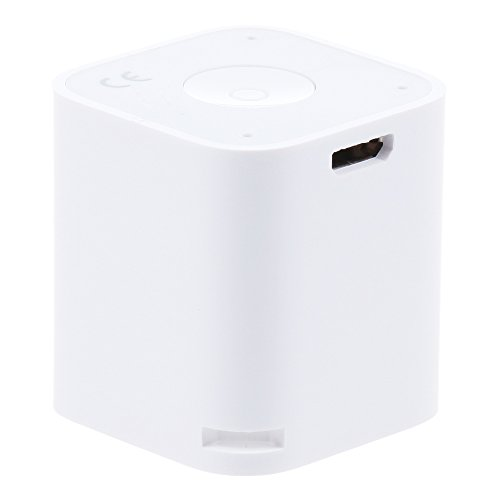 Mini Magical And Portable Multifunction Wireless Bluetooth Speaker Great For Listening Music, Taking Photos, Bluetooth Chat, Mobile Anti-Losit (White)