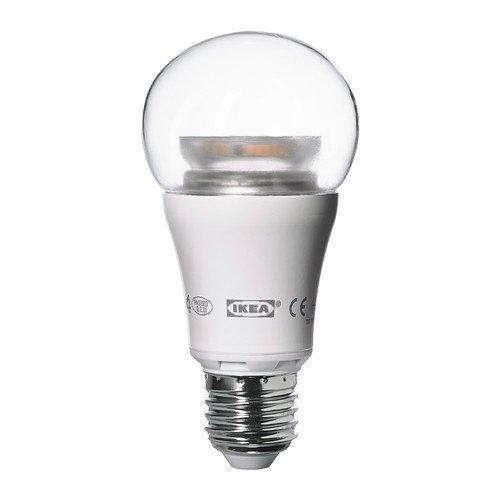 lampadina ikea : Ikea LEDARE LED bulb E26, 600 Lumens, Dimmable, Globe Clear