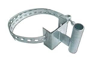 カーブミラー電柱用取付金具  φ34.0用