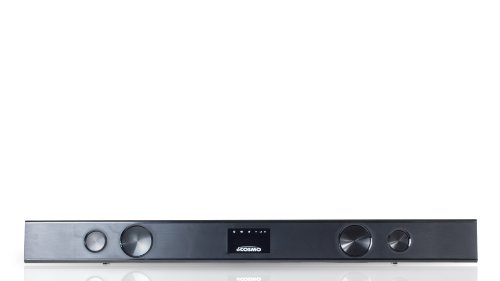 Ocosmo Cb301524W 2.1 Sound Bar System With Built-In Subwoofer, Wi-Fi, And Android Os