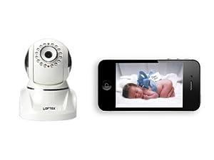 loftek spector digital video baby monitor wifi wirless