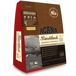 Dog Food: Acana Ranchlands Dry Red Meat Mix (15lb - New Formula)