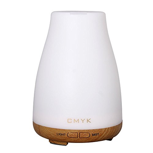 CMYK® Aroma Diffuser 100ml Colorful Ultrasonic Humidifier Aroma Diffuser / Aromatherapy Essential...