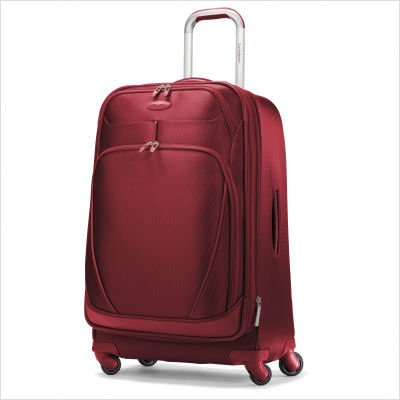 "Samsonite Women's Xspace 30"" Expandable Spinner, Mars Red, One Size"
