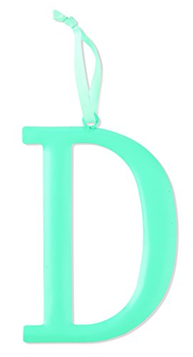 Mud Pie Metal Initial Wall Hanging, D, Large
