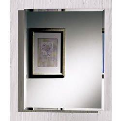 NuTone 1451 Horizon Frameless Single-Door Recessed Medicine Cabinet