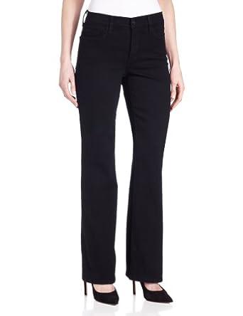 NYDJ Women's Boot Cut Jean, Black, 0