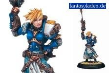 Privateer Press Warmachine: Cygnar Warcaster Captain Kara Sloan Model Kit