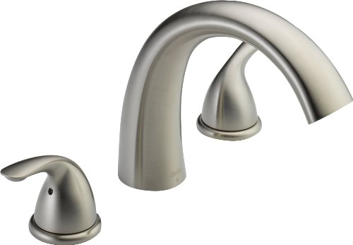Delta T2705-SS Roman Tub Trim, Stainless (Delta Roman Tub Faucets compare prices)