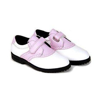 US Kids Girls Spikeless Velcro Golf Shoes 2012