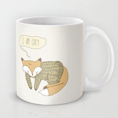Society6 - Cozy Coffee Mug By Ashley Elizabeth