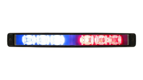 Red/Blue Ulb9S Star Burst Mini-Phantom Undercover Led Lightbar