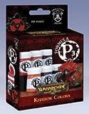 Warmachine Khador Colors Paint Set Formula P3