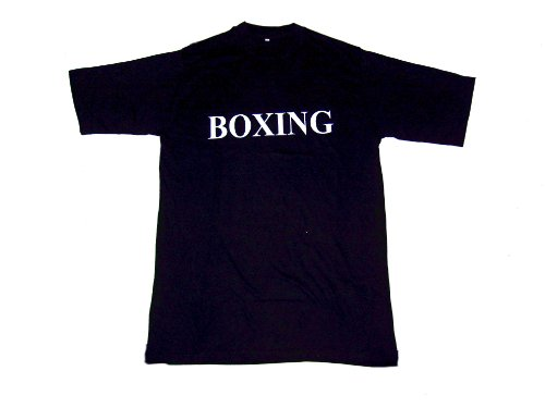 Tee Shirt Black - BOXING - Large
