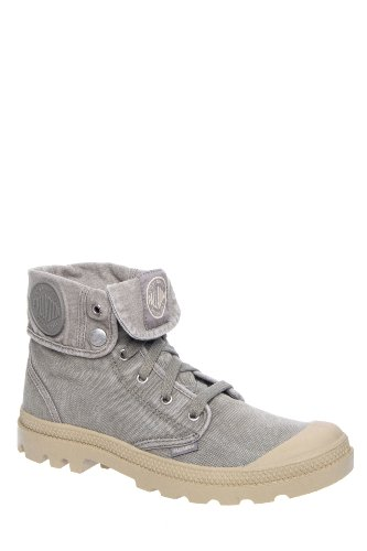 Men's Baggy Canvas Combat Boot