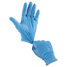 Nitri-Shield Disposable Nitrile Gloves, Blue, Extra Large, 50/Box, Sold as 50 Each