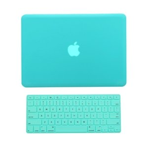 #!  TopCase 2 in 1 Retina 13-Inch HOT BLUE Rubberized Hard Case Cover for Apple MacBook Pro 13.3