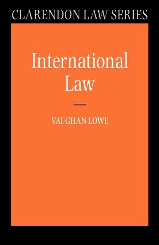 International Law (Clarendon Law Series)