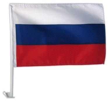 Autofahne Autoflagge Russland 30 x 45 cm