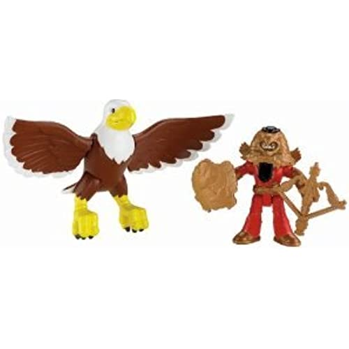 Fisher-Price (휘셔 프라이스) Imaginext Knight and Eagle 피규어 장난감 인형 (병행수입)