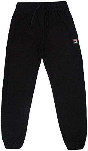 FILA Big Boys Performance Heritage Jogger Pants 8 Black
