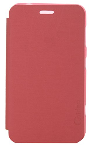 iCandy Soft TPU Non Slip Back Shell PU Leather Hybrid Flip Cover for Nokia Lumia 625 - RED  available at amazon for Rs.135