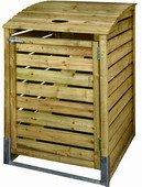 Cache poubelle simple autoclave 80x120x90cm