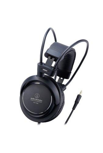 Audio-Technica ATH-T500 Cuffie Dinamici Chiusi, Nero