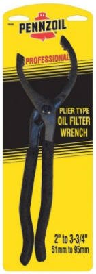 Custom Accessories 19420 Pennzoil Professional Plier-Type Oil Filter Wrench - Quantity 3