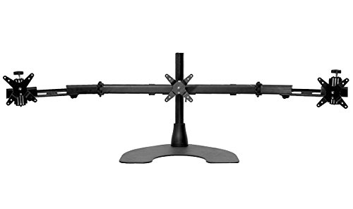 Ergotech Triple Desk Stand With Telescopic Wings 100 D16