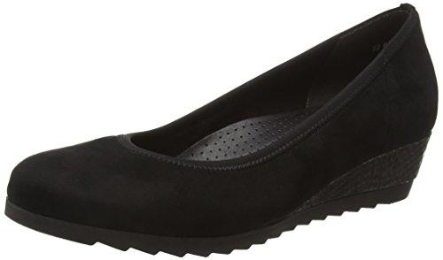 Gabor Shoes Comfort Sport, Scarpe Con Tacco Donna, Nero (Schwarz (Anthrazit) 27), 43 EU