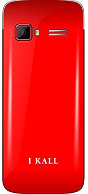 I Kall K 34 Dual SIM Mobile (Red)
