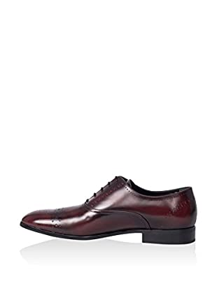 Hemsted & Sons Zapatos Oxford (Rojo Oscuro)