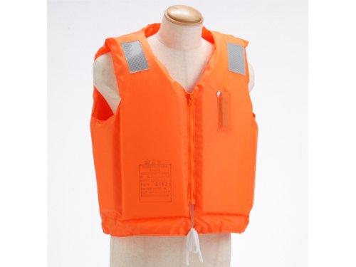 小型船舶用救命胴衣 オーシャン C-2型 TYPEA オレンジ 船舶検査対応