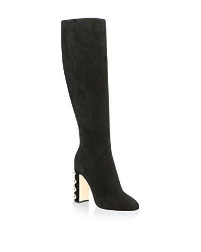 Dolce & Gabbana Botas Negro / Oro
