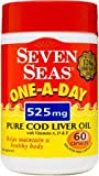 Seven Seas One-A-Day Cod Liver Oil 525mg 60 Capsules