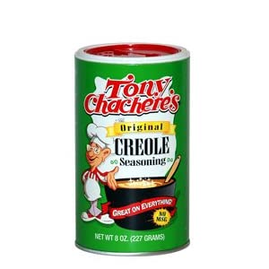 Tony Chachere's Creole Seasoning 8 oz