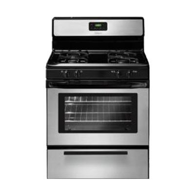 30-In-Freestanding-Gas-Range-Silver-Mist