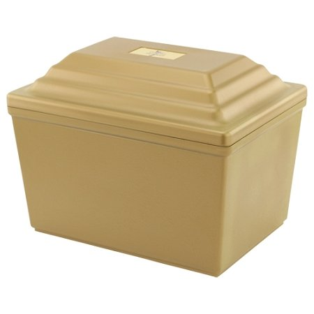 Guardian Urn Vault in Gold (Burial Urn Vault compare prices)