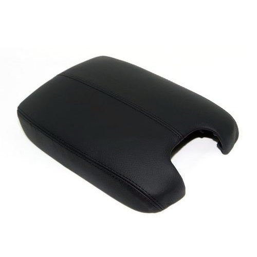Ezzy Auto Black Leather Suture Console Lid Armrest Cover for 2008 2009 2010 2011 2012 Honda Accord Armrest Cover (2009 Honda Accord Console Armrest compare prices)