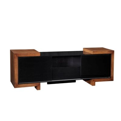 Buy low price furnitech ft75fa 75 contemporary tv stand for Where to buy tv console