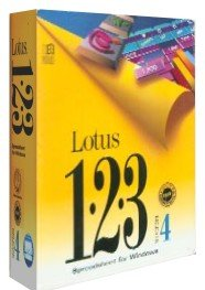 Lotus 123 Spreadsheet for Windows Release 4